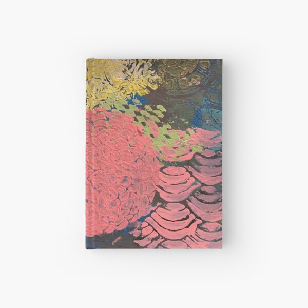 Coral Snowball Hardcover Journal