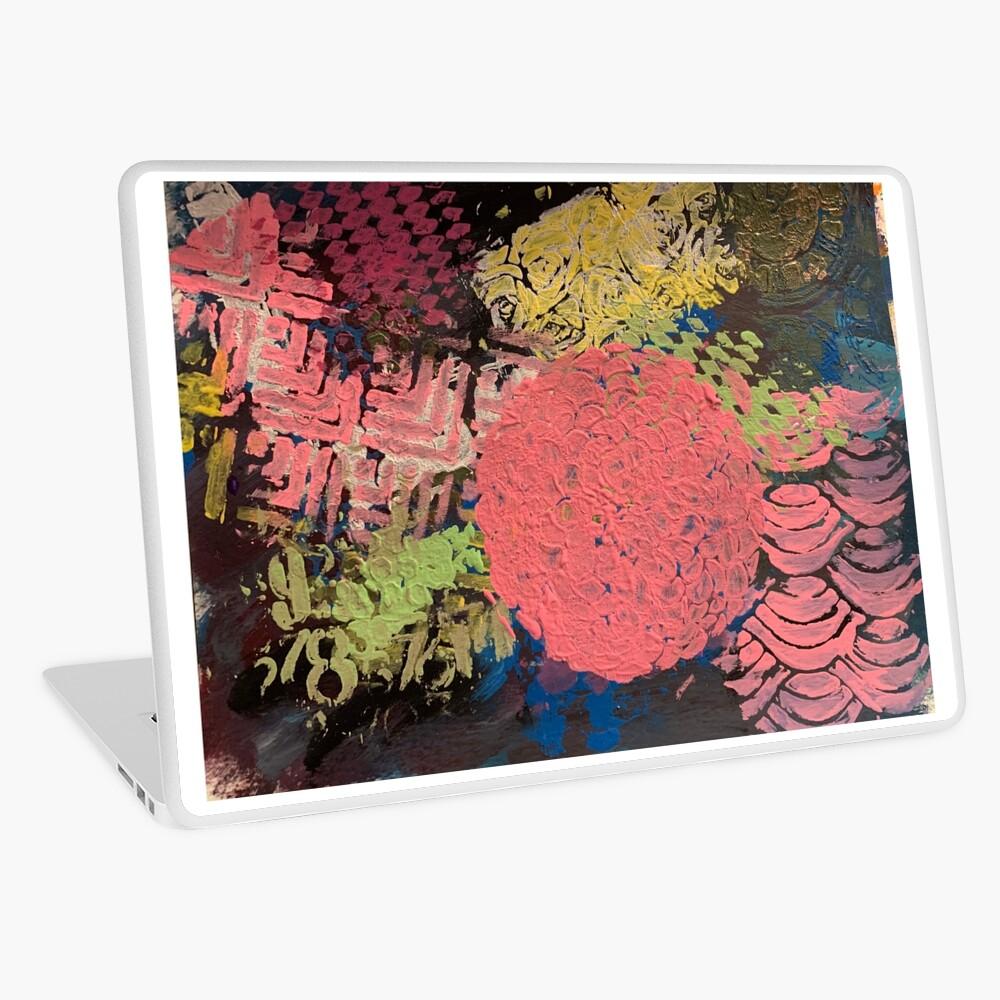 Coral Snowball Laptop Skin