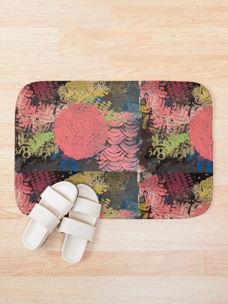Alternate view of Coral Snowball Bath Mat