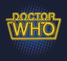 Doctor Who Classic Logo (Yellow)