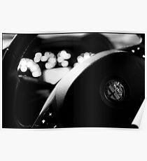 Alfa Steering Wheel Poster