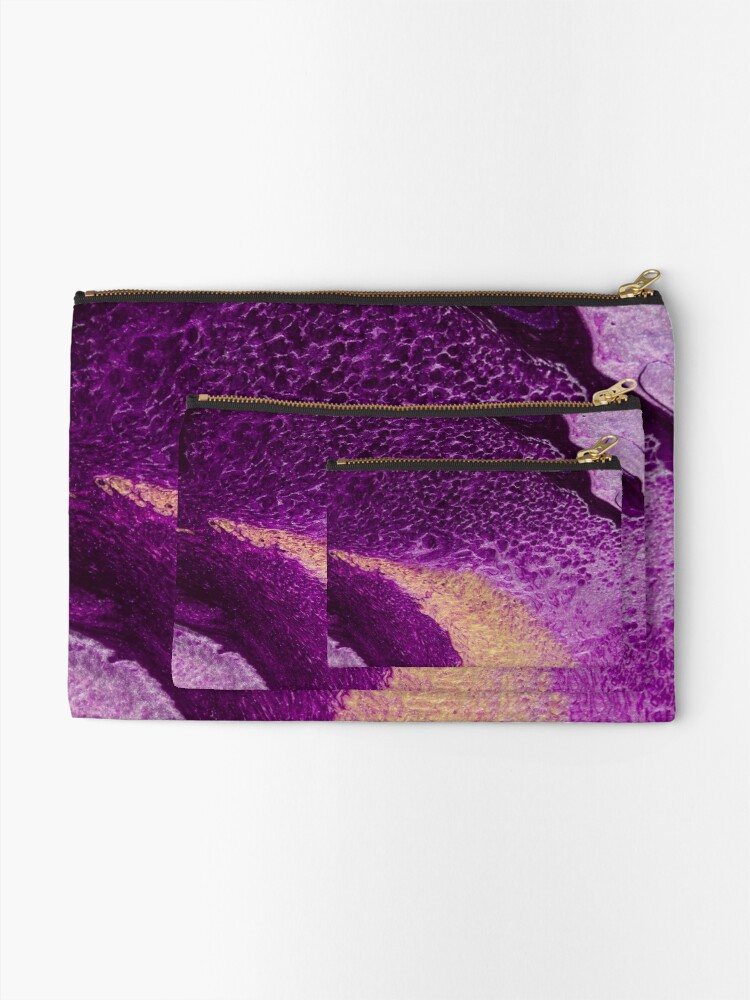 Alternate view of Cellularized Zipper Pouch