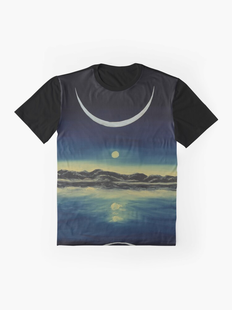 Alternate view of Supernatural Eclipse Graphic T-Shirt