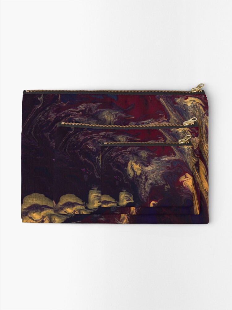 Alternate view of Depths of the Soul Zipper Pouch