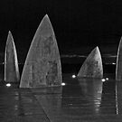 Sails in Black and White by AlMiller