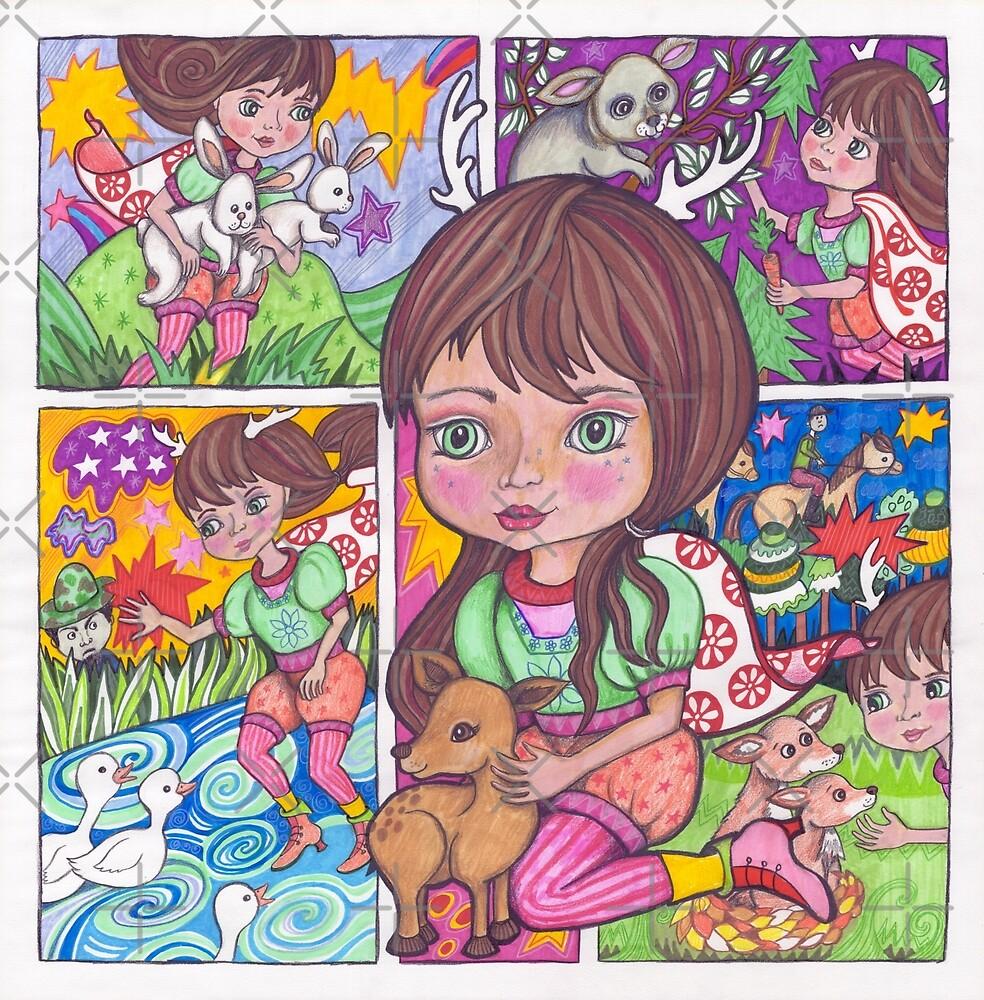 Saving the Hunted Animals by Lynda Bell