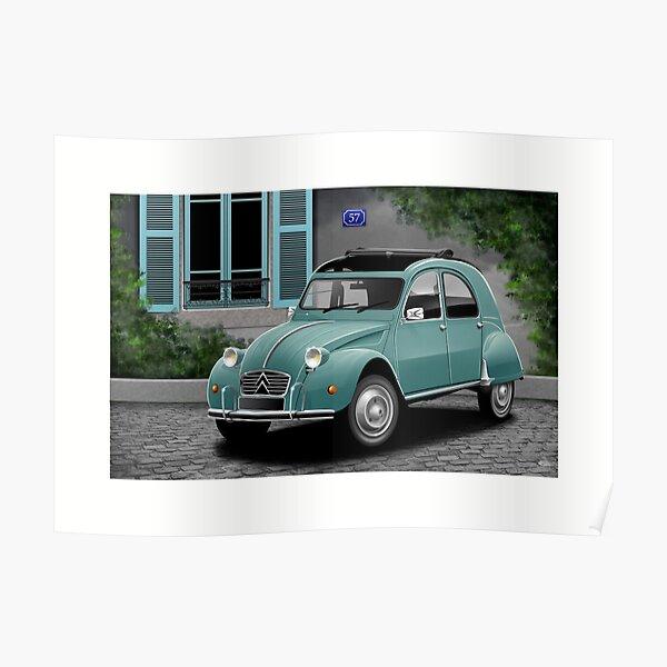 Oeuvre d'affiche - Citroen 2CV (1960) Poster
