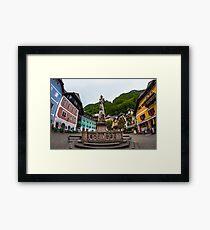 Hallstatt in Austria- 001 Framed Print
