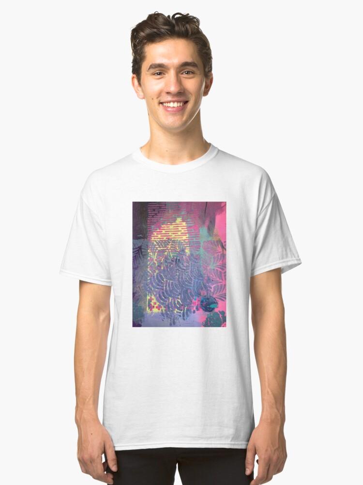 Alternate view of The Purple Palm Tree Classic T-Shirt