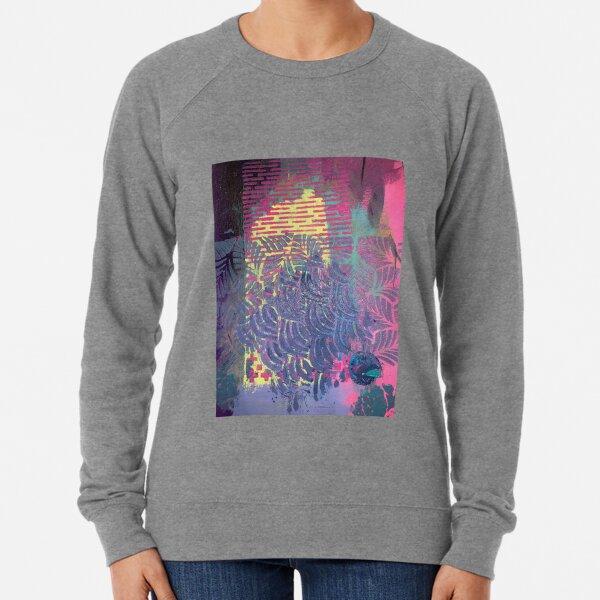The Purple Palm Tree Lightweight Sweatshirt