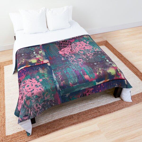 Grungy Pink Princess   Comforter