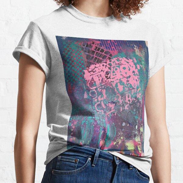 Grungy Pink Princess   Classic T-Shirt