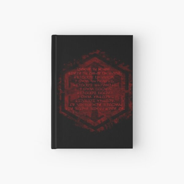 The sith code Hardcover Journal