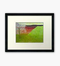 Silent Plains Framed Print