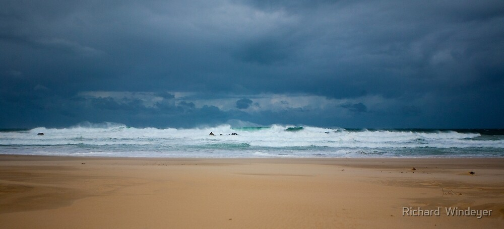 The Angry Ocean by Richard  Windeyer