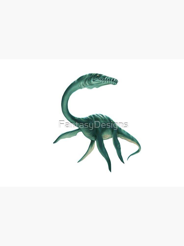 Underwater Dinosaur by FantasyDesigns