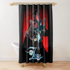 My Zorro fan art. Shower Curtain