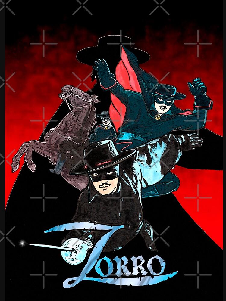 My Zorro fan art. by Indigenous-Bert