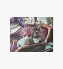 English Staffordshire Bull Terrier Art Board
