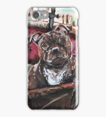 English Staffordshire Bull Terrier iPhone Case/Skin