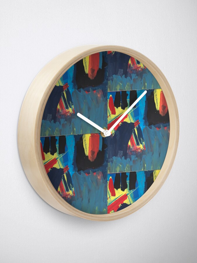 Alternate view of Climbing Trees In the Ocean Clock
