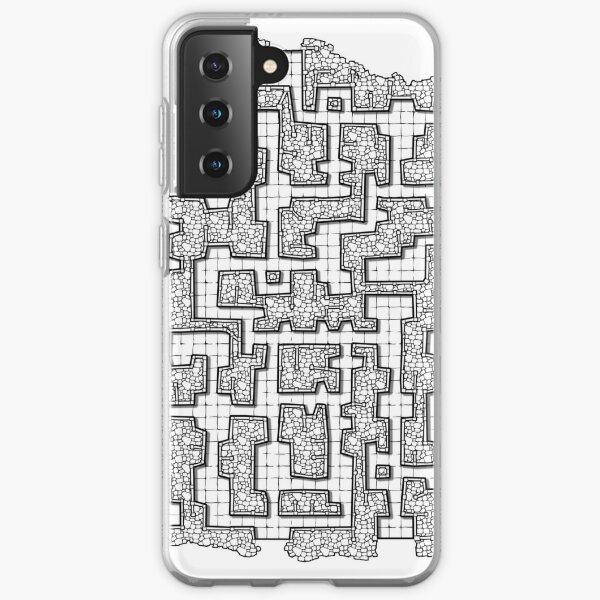 Dungeon map Samsung Galaxy Soft Case