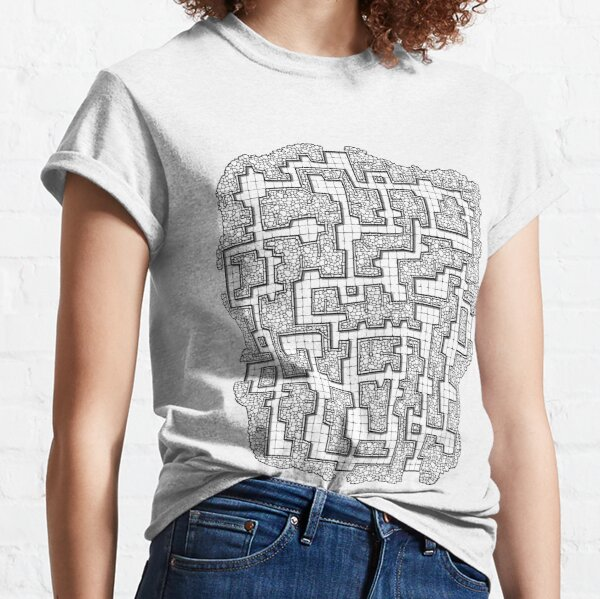 Dungeon map Classic T-Shirt