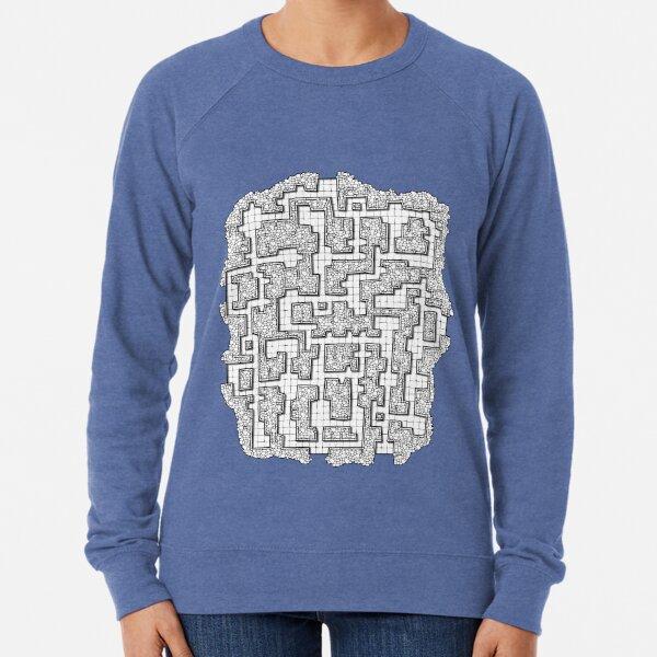 Dungeon map Lightweight Sweatshirt