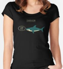 Sharkasm Women's Fitted Scoop T-Shirt