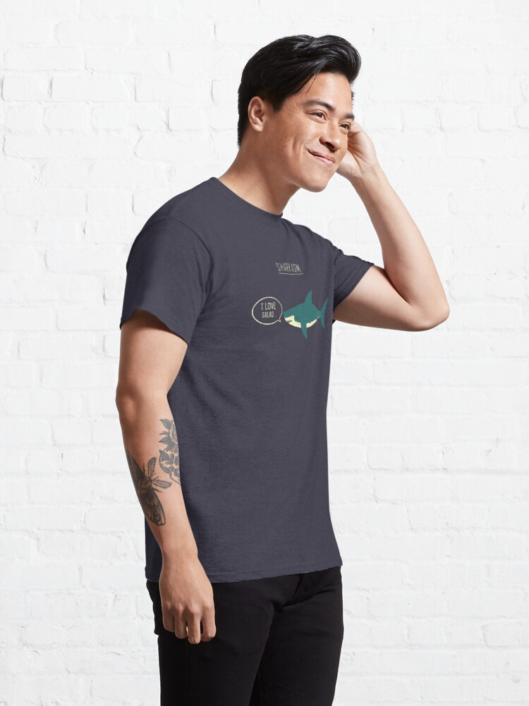 Alternate view of Sharkasm Classic T-Shirt