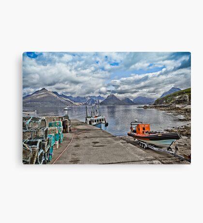 Harbour Life Canvas Print