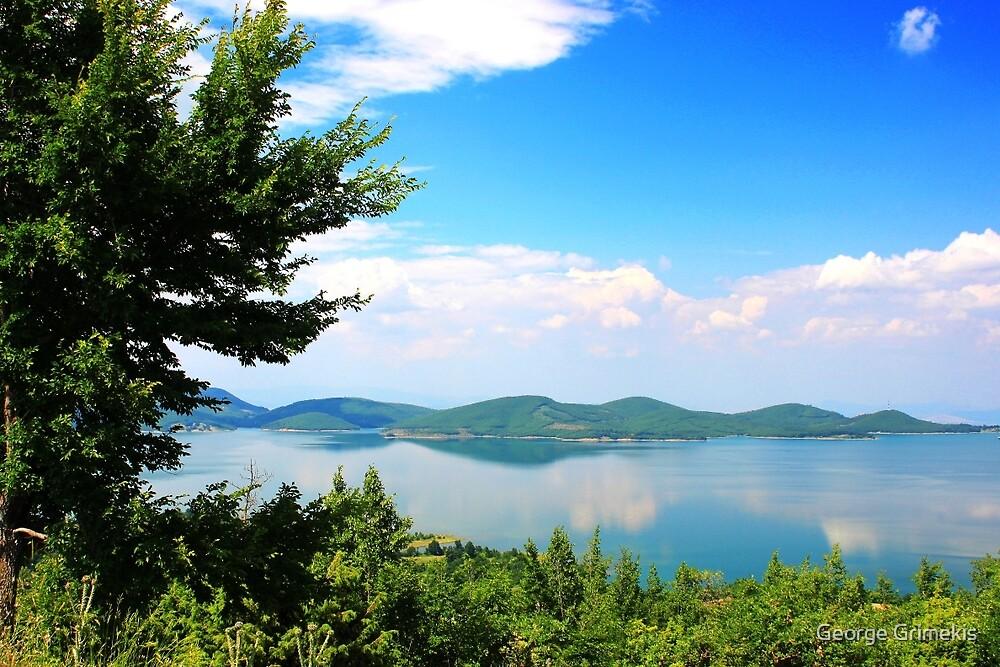 Plastiras Lake by George Grimekis
