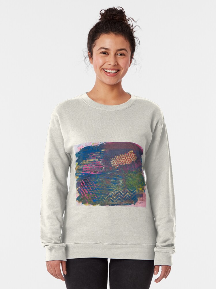 Alternate view of Layer by Layer  Pullover Sweatshirt