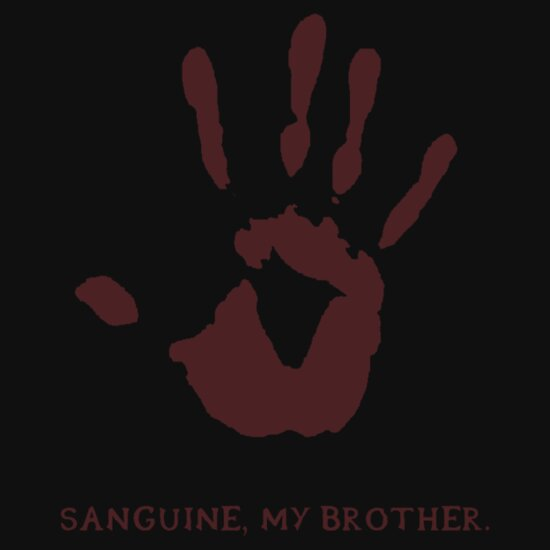 TShirtGifter presents: Dark Brotherhood: Sanguine, my brother.