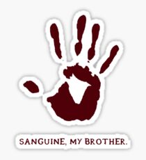 Dark Brotherhood: Sanguine, my brother. Sticker