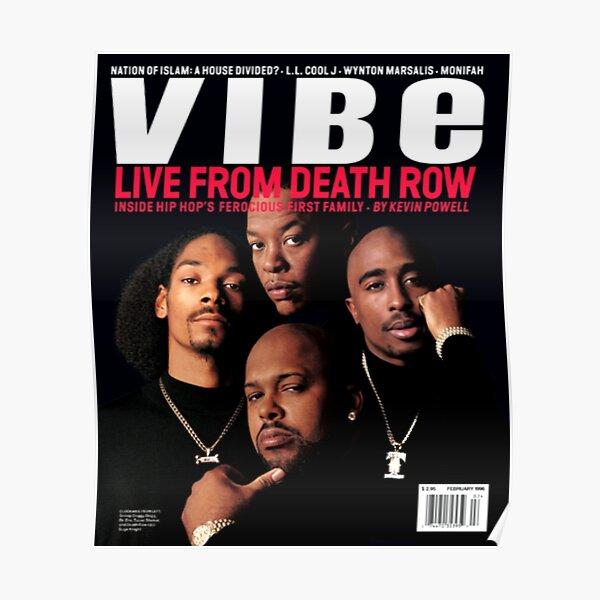 VIBE Magazine Death Row Poster