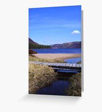 Iridescent Loch Muick Greeting Card