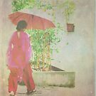 Lady with the umbrella by Shubd