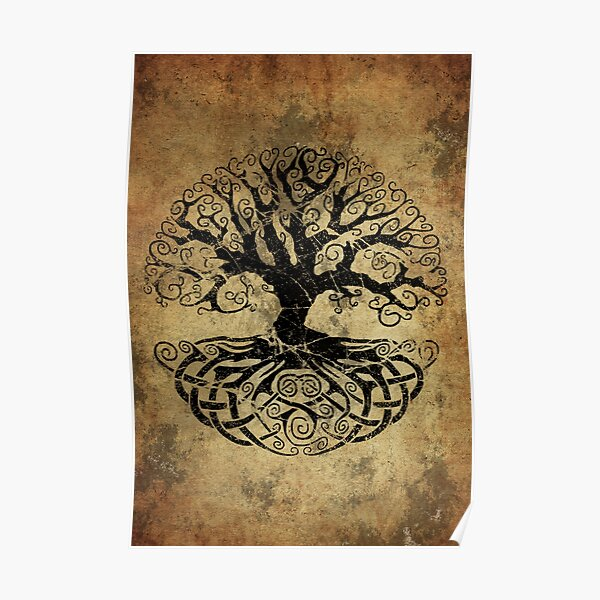 Yggdrasil - Tree of Life Poster