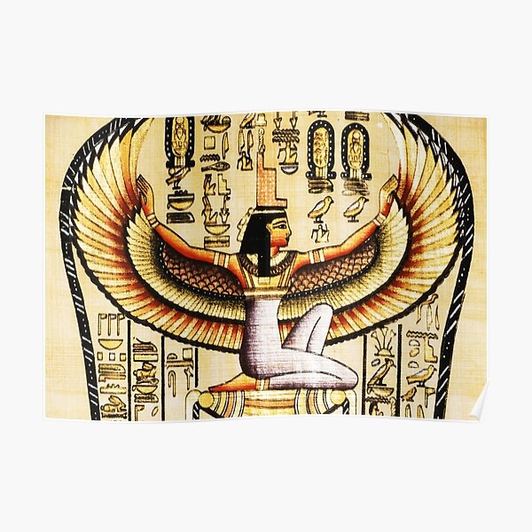Egypt Isis Cleopatra Poster