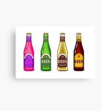 Beer Beer Beer Canvas Print