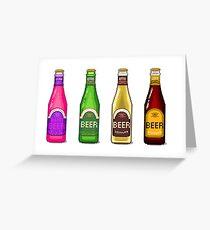 Beer Beer Beer Greeting Card