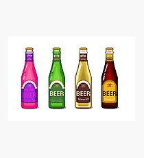 Beer Beer Beer Photographic Print