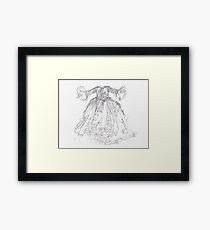 Cinderella's Gown Framed Print