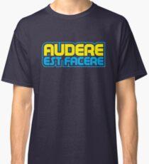 Spurs Latin Motto T-shirt Navy Classic T-Shirt