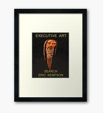 executive art, Framed Print