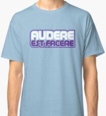 Spurs Latin Motto T-shirt Light Blue Classic T-Shirt