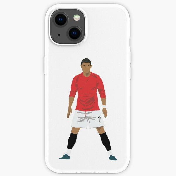Cristiano Ronaldo MUFC iPhone Flexible Hülle