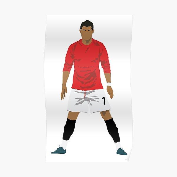 Cristiano Ronaldo MUFC Poster