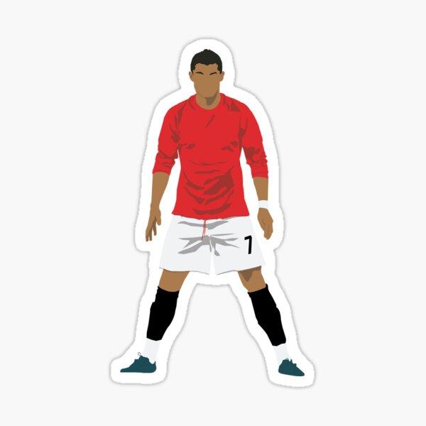 Cristiano Ronaldo MUFC Sticker